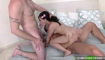 gay black on white bareback